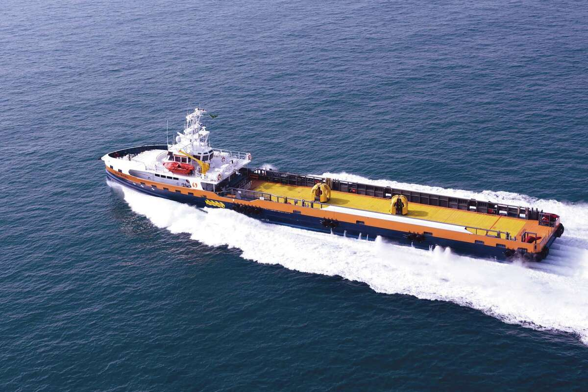 Fast Crew Supply Vessels are part of Aramco's Sea Bus Service, another major initiative in transforming offshore transportation and logistics services for the company's active offshore exploration and production program.