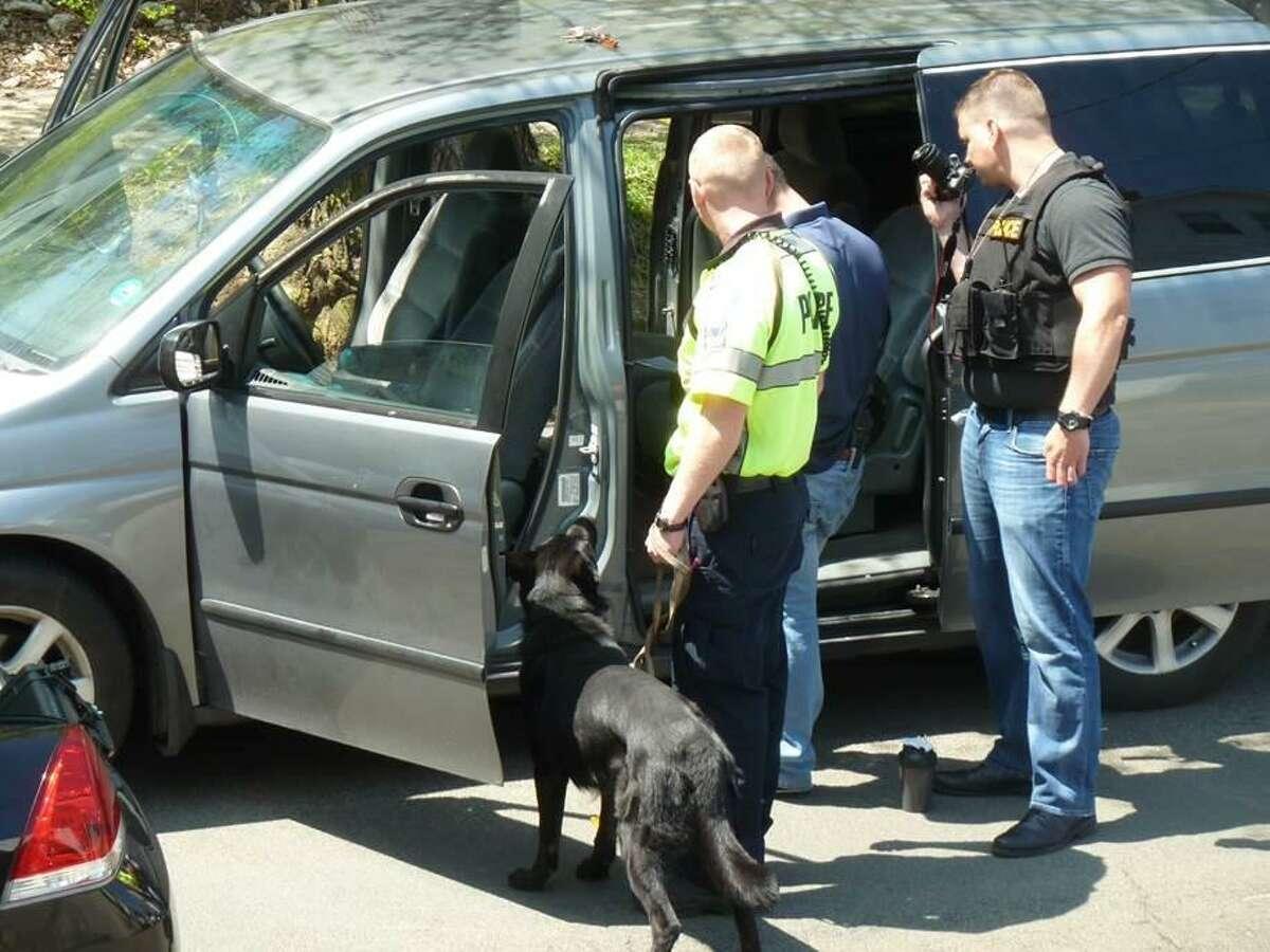 An arrest has been made following an overdose of a Shelton woman Thursday night.