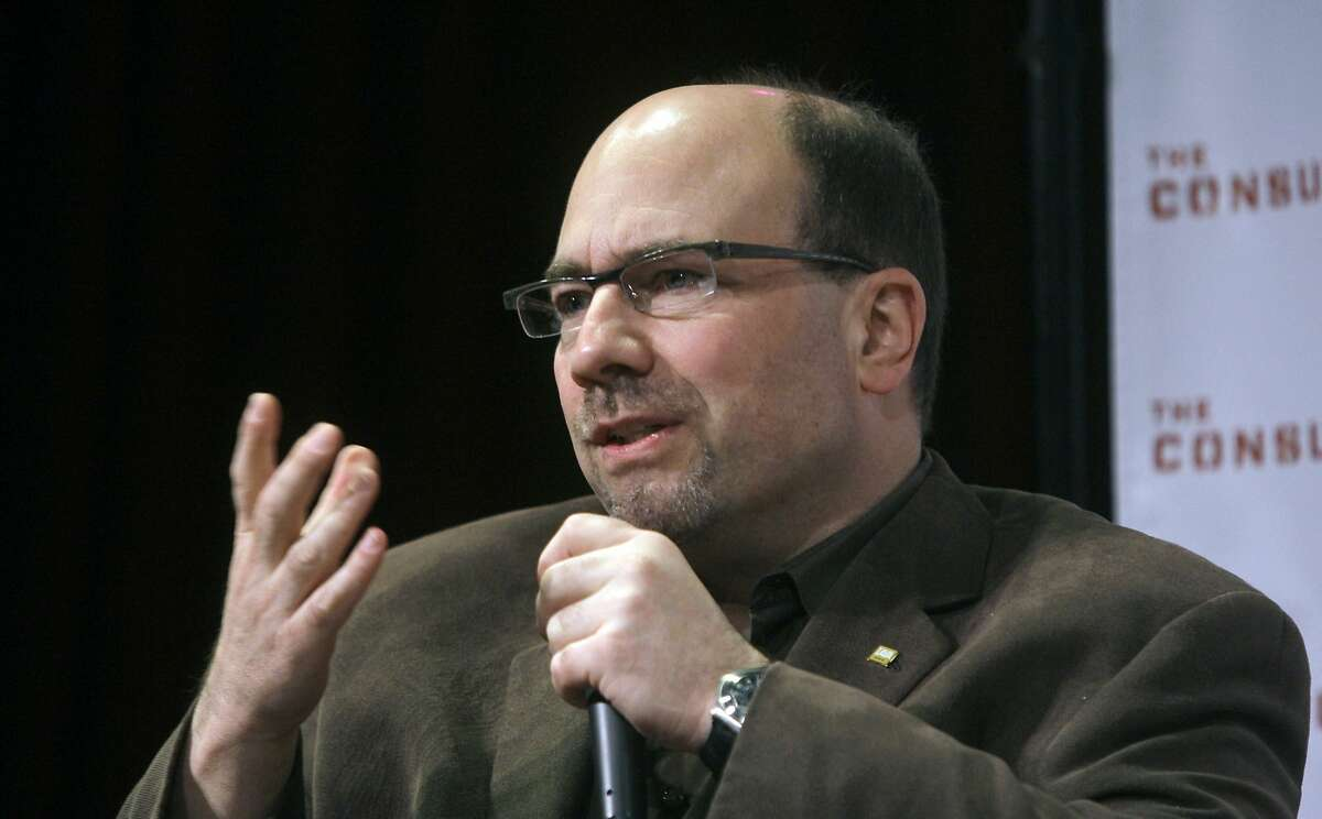 FILE - In this Tuesday, May 19, 2009, file photo, Craig Newmark, founder of Craigslist.org, speaks during a panel discussion sponsored by Consumer Reports and The Consumerist on how online media is making a difference for consumers, in New York. A $20 million gift from the Craigslist founder Craig Newmark is helping to underwrite The Markup, a news site dedicated to investigating technology and its effect on society.