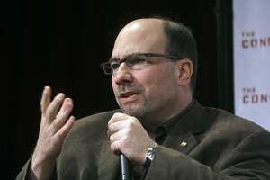 FILE - In this Tuesday, May 19, 2009, file photo, Craig Newmark, founder of Craigslist.org, speaks during a panel discussion sponsored by Consumer Reports and The Consumerist on how online media is making a difference for consumers, in New York. Facebook and Mozilla are among the companies and organizations launching a $14 million fund to promote news literacy and increase trust in journalism. The nonprofit, called the News Integrity Initiative, will be based at the City University of New York. It comes as recent polls show the public�s trust in the news industry at a low. Others contributing to the fund include Newmark and the Ford Foundation. (AP Photo/Frank Franklin II, File)