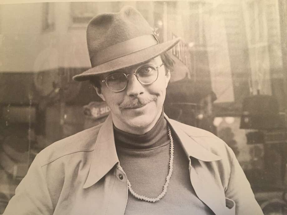 Jack Mueller in the '70s as a North Beach fixture. Photo: Courtesy Cristina Mueller