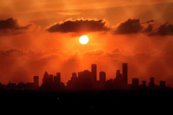 Houston skyline ( Mark Mulligan / Houston Chronicle )