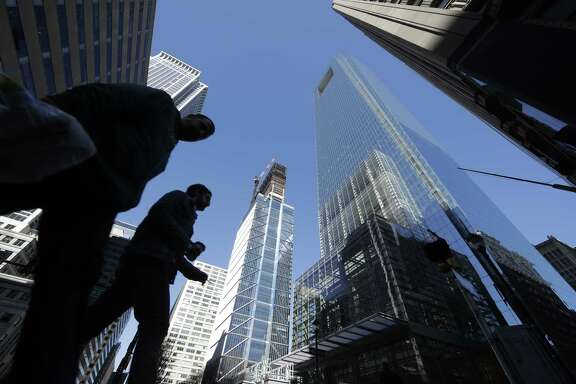 The U.S. economy shows some strength in Philadelphia, where a Comcast center is under construction. However, U.S. consumers pulled back sharply on spending in early 2017, the Commerce Department said on Friday.