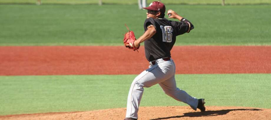 Jorge Gonzalez allowed just one hit in six innings of relief with seven strikeouts Friday in TAMIU's 5-4 loss at Oklahoma Panhandle State. Photo: Courtesy Of TAMIU Athletics