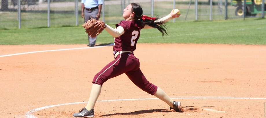 Delainy Thompson pitched a complete-game shutout Friday in TAMIU's 1-0 win over LCU allowing just five hits with three strikeouts. Photo: Courtesy Of TAMIU Athletics