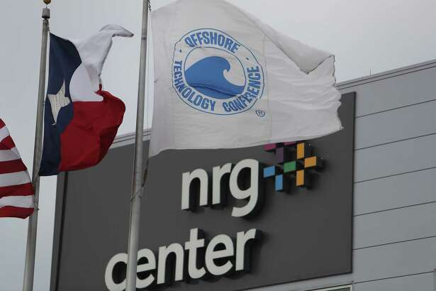 NRG Center ahead of the Offshore Technology Conference  Wednesday, April 26, 2017, in Houston. ( Steve Gonzales  / Houston Chronicle )