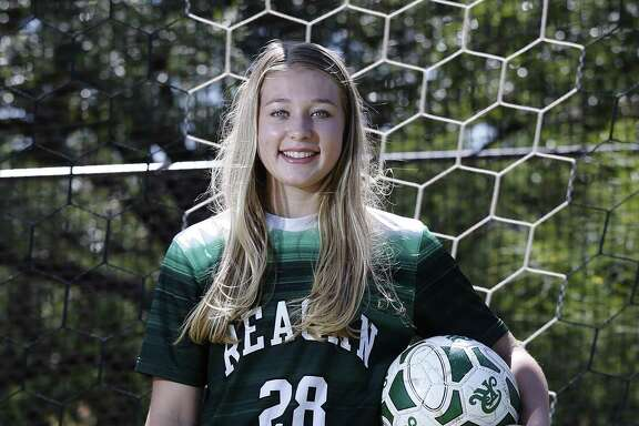 Taylor Olson of Reagan is the 2017 Express-News Girls Soccer Player of the Year.