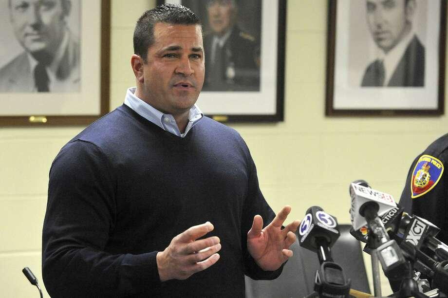 No. 1 Diedrich Hohn Police lieutenant $410,683 Photo: Hearst File Photo / Stamford Advocate