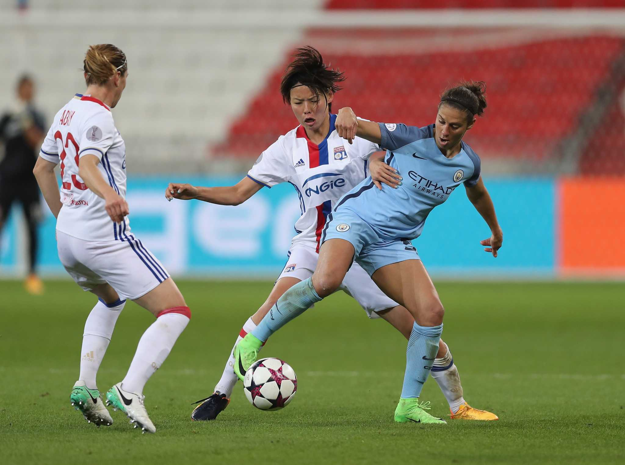 Carli Lloyd Manchester City eliminated from Champions League