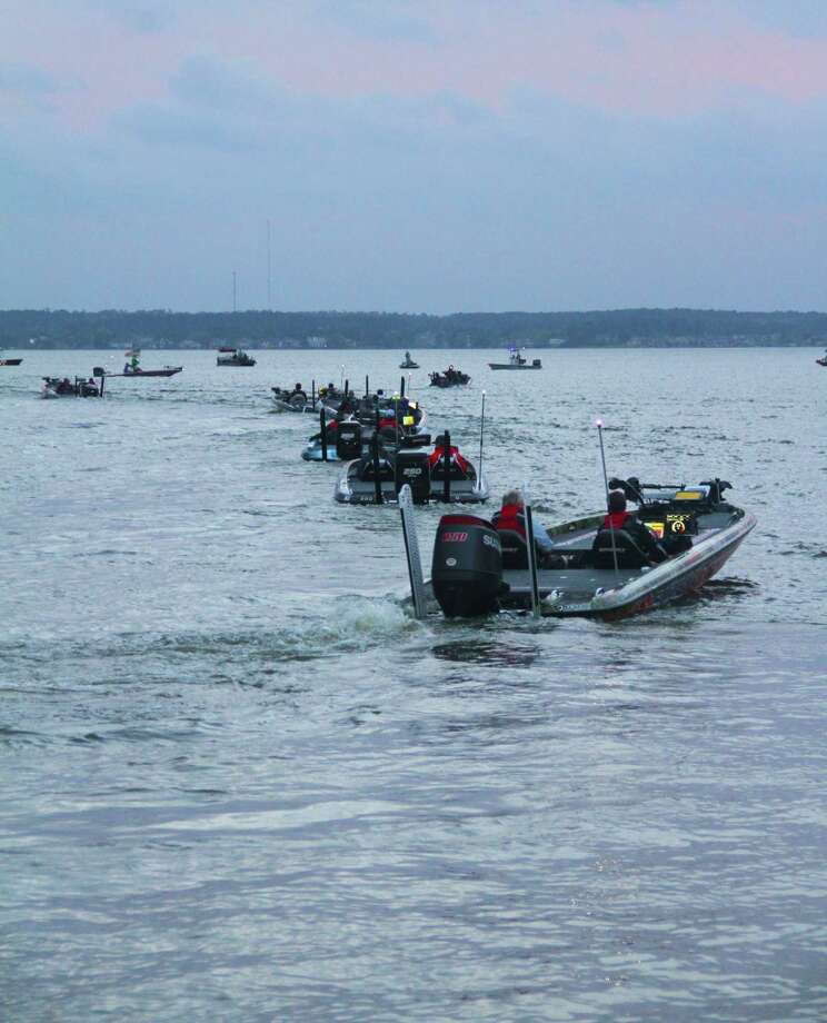 In the wake of a fatal boating accident during the 1973 Bassmaster Classic in which an angler was thrown from a boat and hit by the propeller, BASS mandated the use of engine kill switches and wearing of PFDs by all anglers fishing in the organization's tournaments. Photo: Shannon Tompkins
