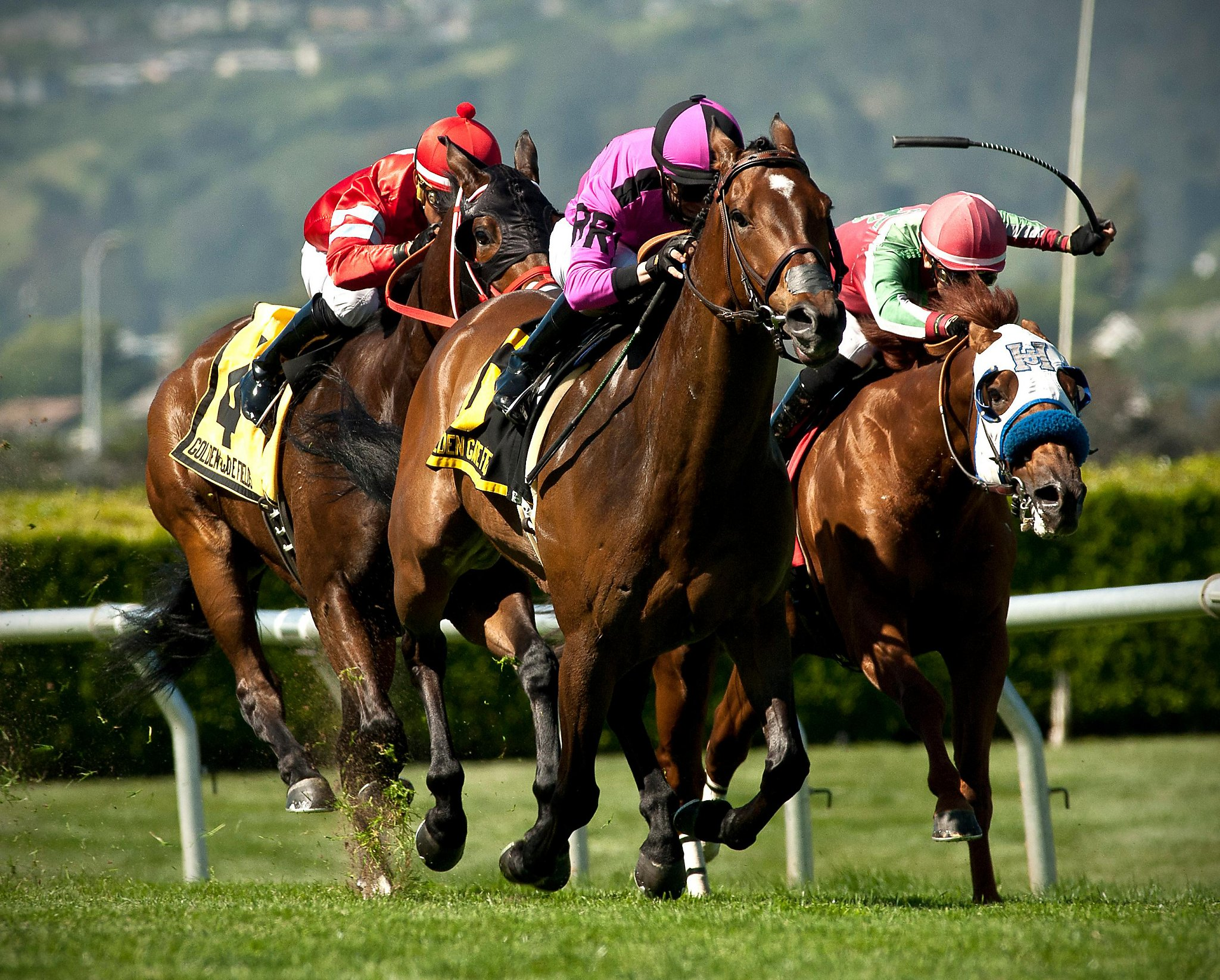 Golden Gate Fields bunches stakes races on April 27 - SFGate
