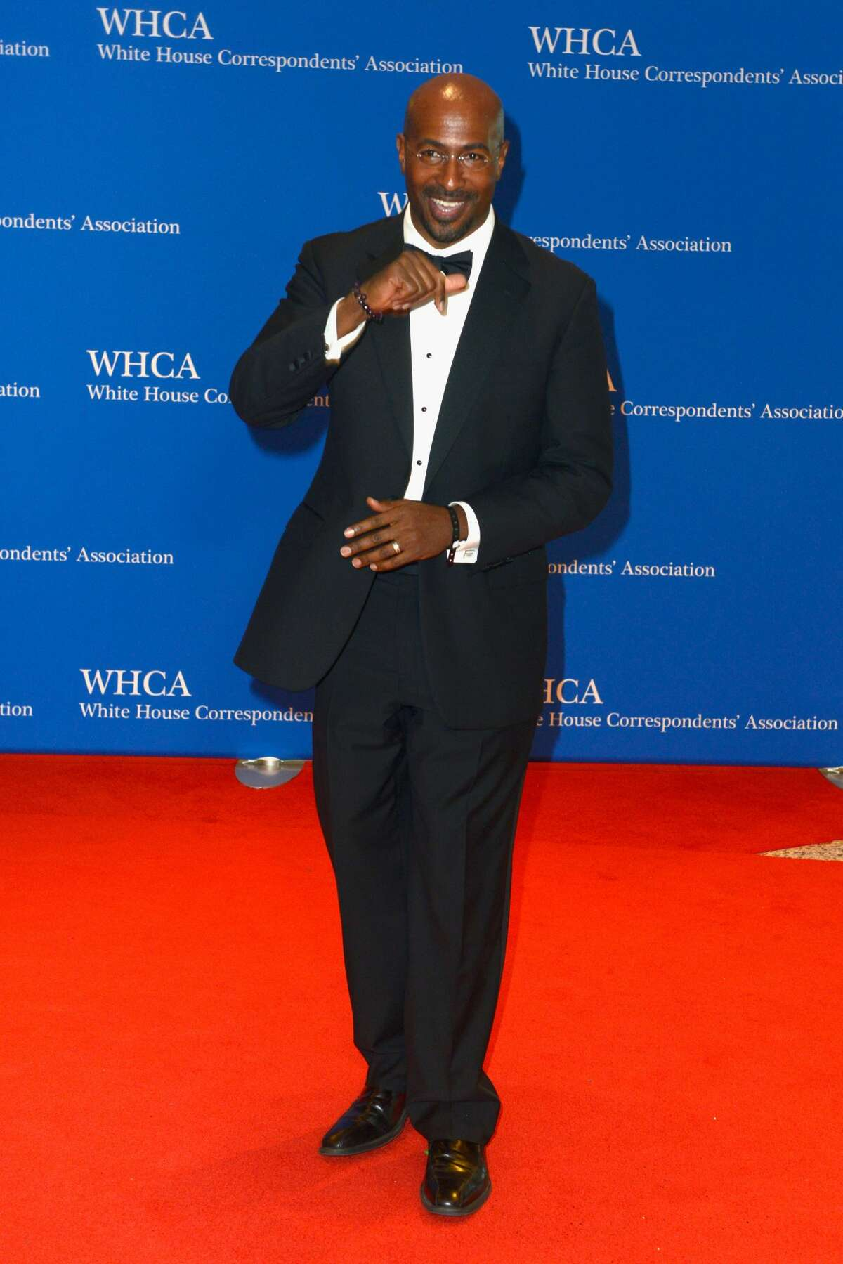 Commentator Van Jones attends the 2017 White House Correspondents' Association Dinner at Washington Hilton on April 29, 2017 in Washington, DC. (Photo by Leigh Vogel/FilmMagic)