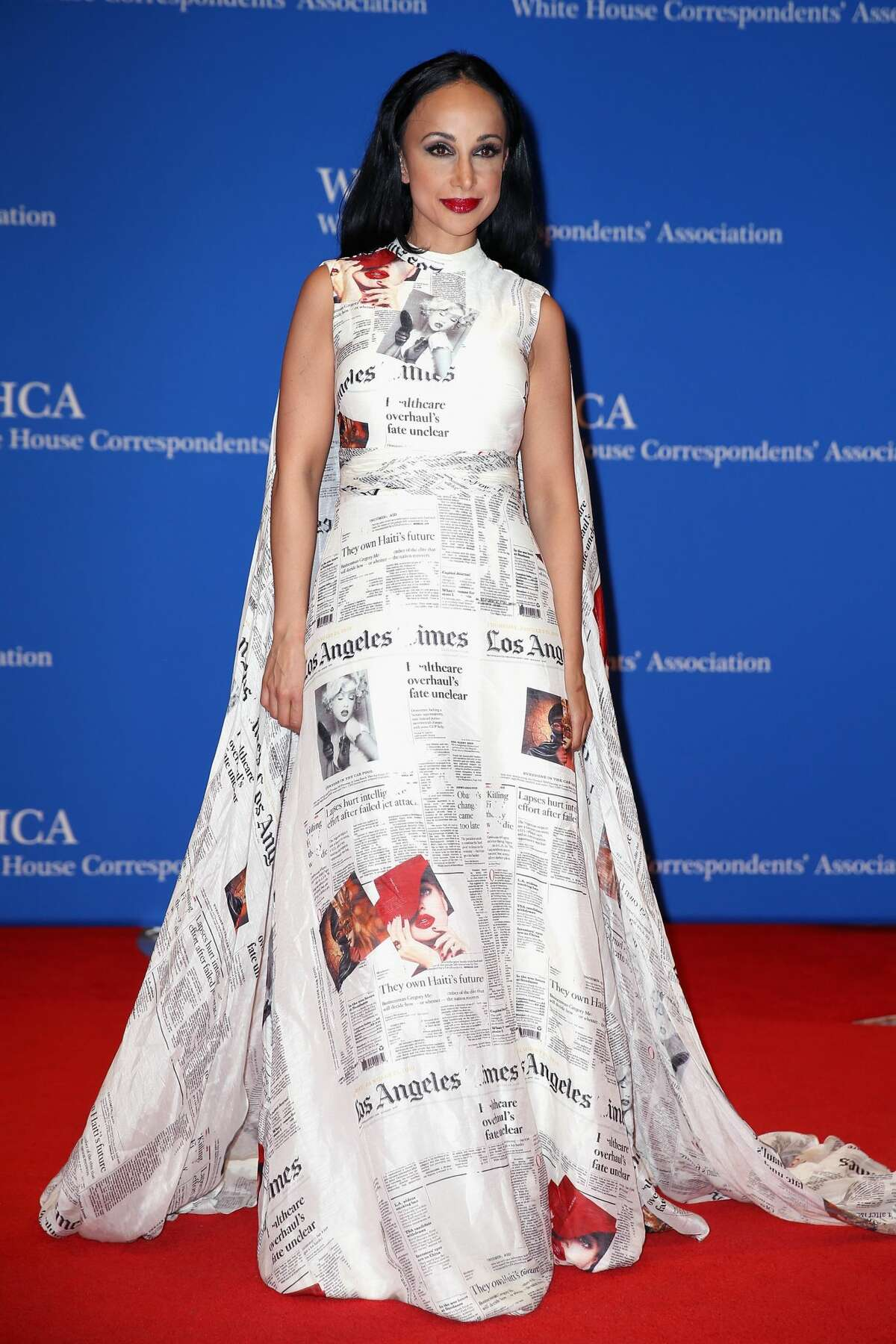 WASHINGTON, DC - APRIL 29: Doctor Nina Radcliff attends the 2017 White House Correspondents' Association Dinner at Washington Hilton on April 29, 2017 in Washington, DC. (Photo by Tasos Katopodis/Getty Images)