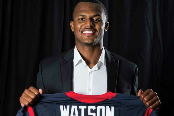Quarterback Deshaun Watson will wear No. 4 after the Texans drafted him with the No. 12 pick.