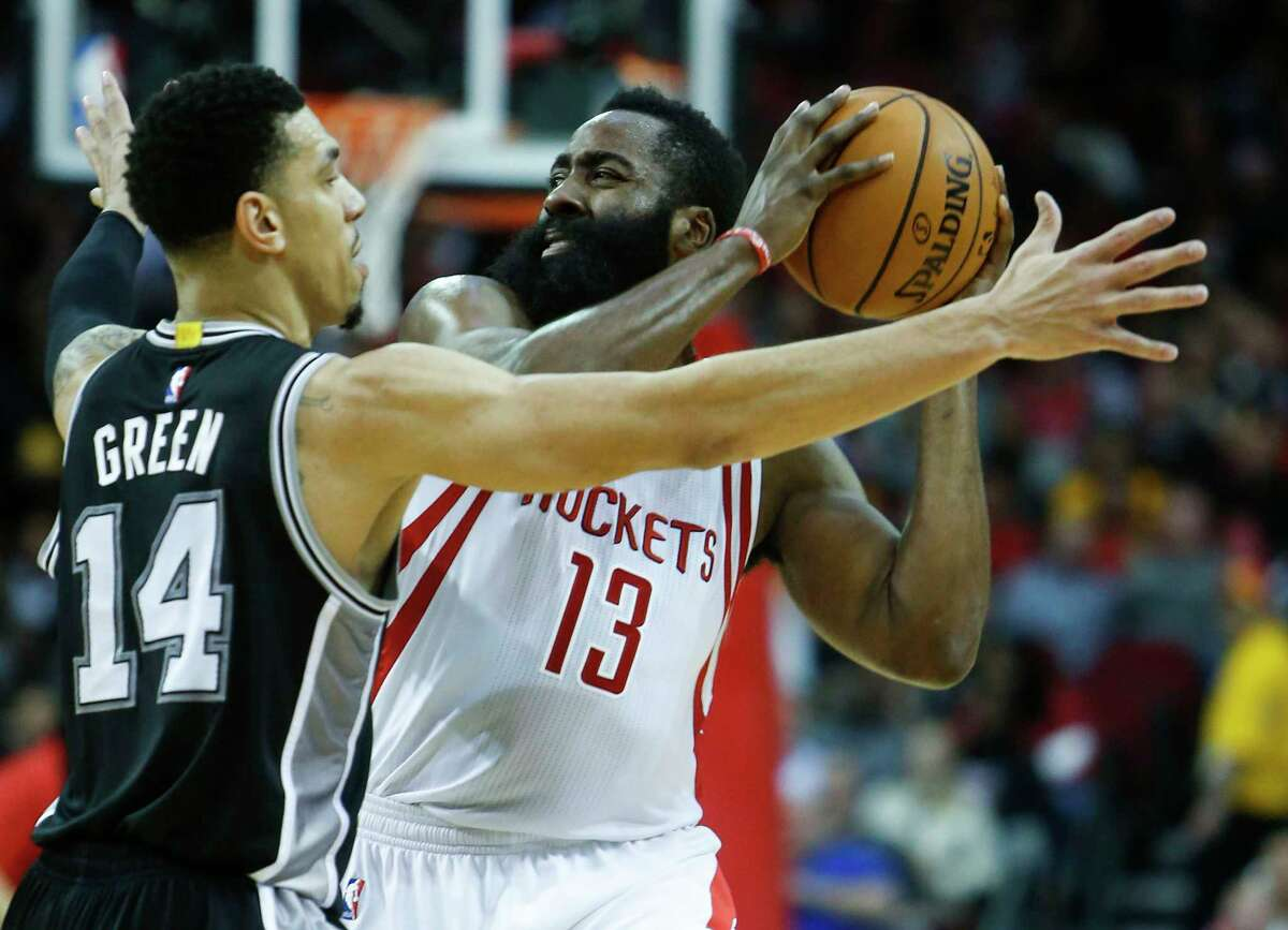 ROCKETS-SPURS MATCHUP GUARDS     The Spurs rarely make in-season trades, but apparently pulled off a steal since the end of the regular season, trading in an old Tony Parker for the Tony Parker of old. Parker was sensational in the Memphis series, averaging 16.3 points on 53.3 percent shooting. Danny Green continued to struggle, but his primary job will be to defend James Harden. Harden did not shoot well in the first round, but still effectively attacked the Oklahoma City defense, lived at the line and averaged 33.2 points per game. Pat Beverley was outstanding in the home games and averaged 11.6 points against the Thunder. His energy and toughness is hugely important and was missed in one of the losses to the Spurs he missed. Edge: Rockets. Harden will not have to dominate the series, but he might have to be unstoppable in a few games, especially in San Antonio.