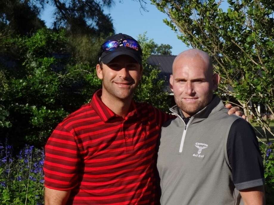 Derek Busby and John Tally Photo: George Adams/ Champions Golf Club