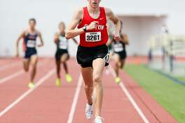 Sam Worley set the Greater San Antonio area record in the 800 with a time of (1:49.68). That time leads the nation this year.