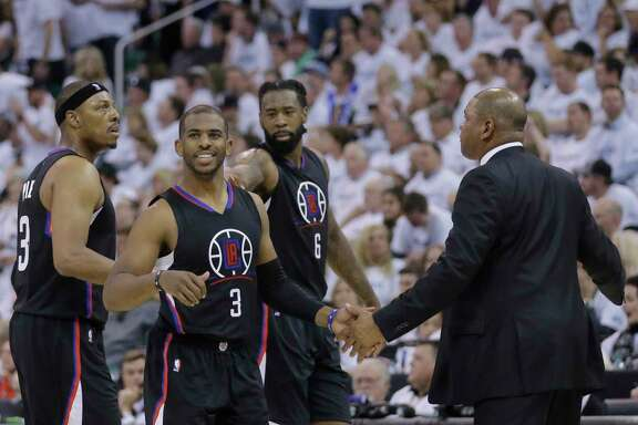 Guard Chris Paul launched the Clippers to victory over the Jazz in Game 6 of their Western Conference series.