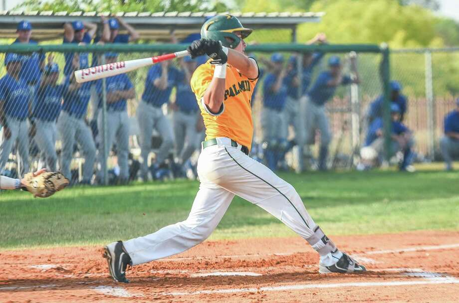 Laredo Community College's Nick Galaviz and the Palominos lost both games of a doubleheader on Saturday to Galveston by scores of 15-5 and 11-0. Photo: Danny Zaragoza /Laredo Morning Times File