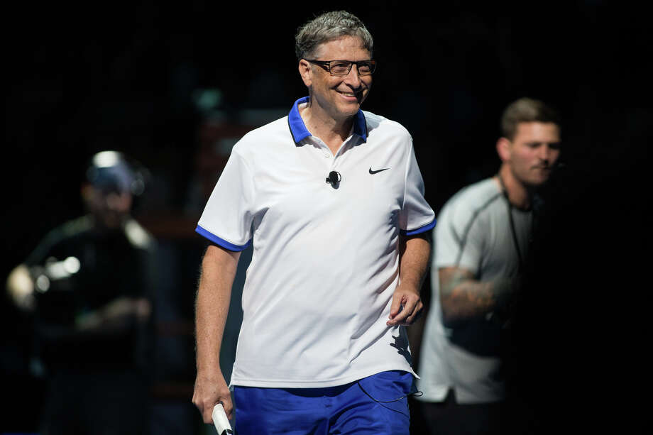 Bill Gates His net worth, according to Forbes' latest report, is about $50 billion less than Bezos. Photo: GRANT HINDSLEY, SEATTLEPI.COM / SEATTLEPI.COM