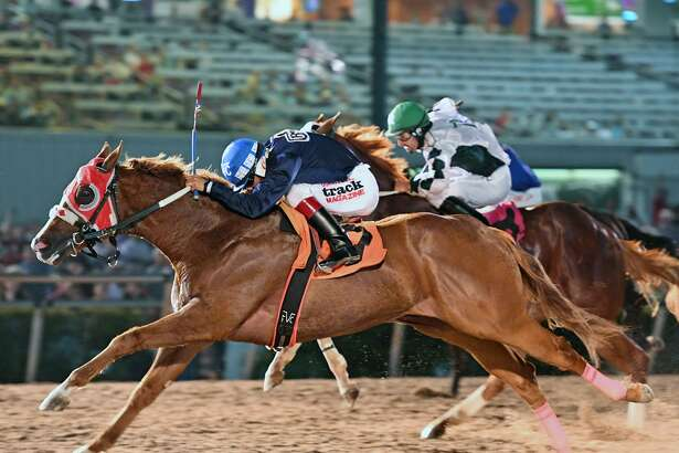 This Is An Eagle won the $483,000 Sam Houston Race Park Futurity on Saturday, April 29, 2017.