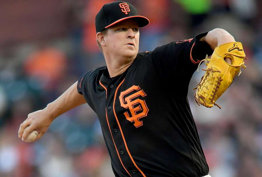 Matt Cain's 2.30 ERA ranked ninth in the National League after Saturday's games. Photo: Thearon W. Henderson, Getty Images