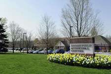 The Brookfield Municipal Center in Brookfield, Ct. is home to the Town Hall, Senior Center, park and playing fields.