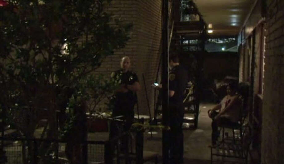 One man was shot at a birthday party in north Houston. Photo: Metro Video