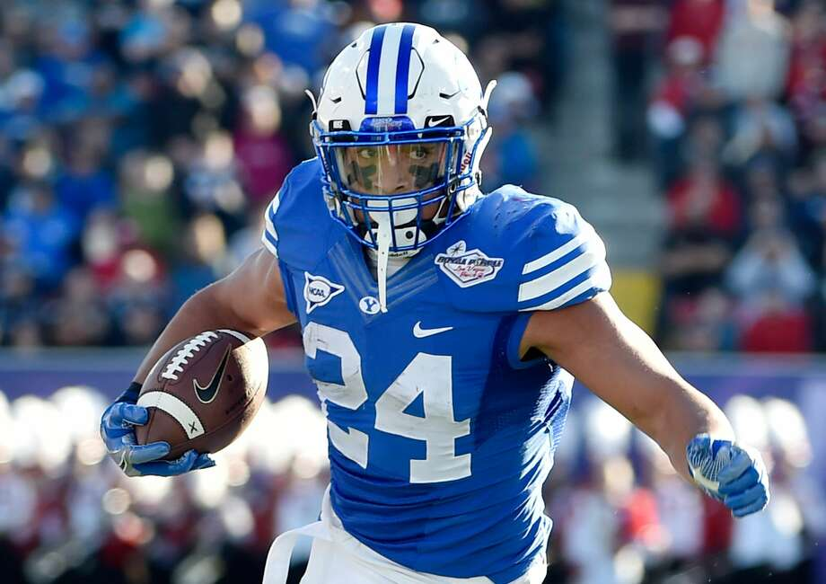 FB Algernon Brown, Brigham YoungBrown led the Cougars with 709 rushing yards in 2015 before moving to fullback ahead of his senior season. Photo: David J. Becker/Getty Images