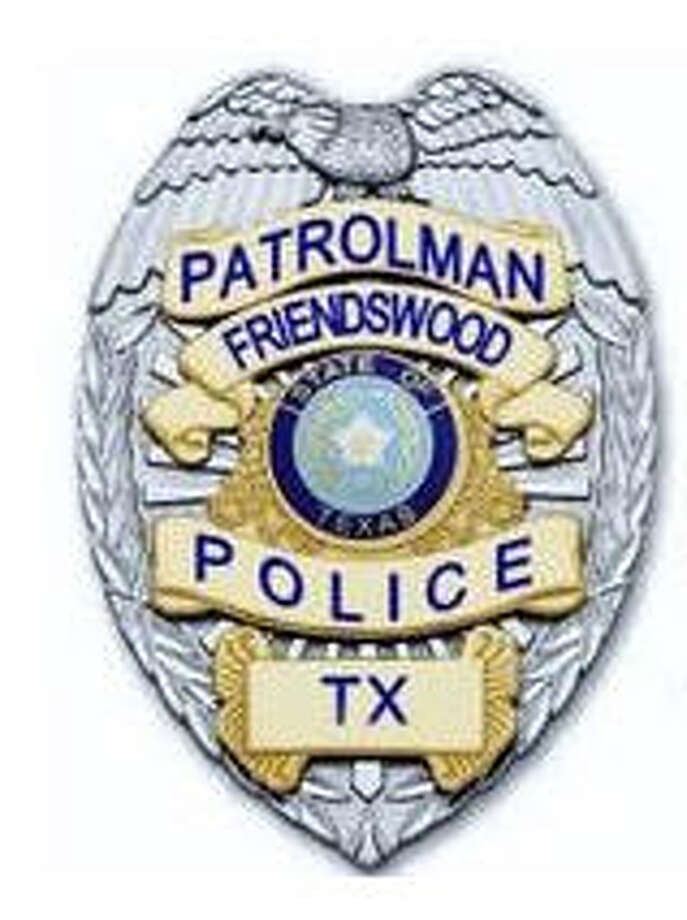 Friendswood Police Badge for weekly Friendswood crime column Photo: Friendswood PD