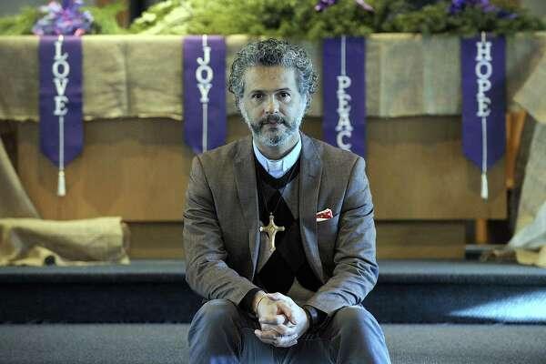 The Rev. Alex da Silva Souto, pastor of the New Milford United Methodist Church.