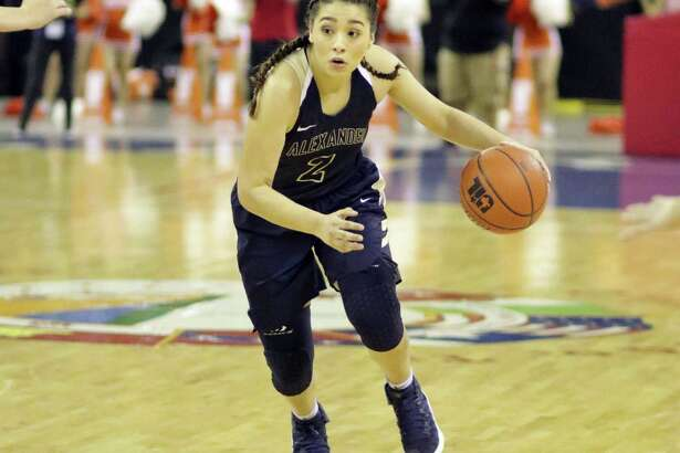 Dannia González averaged a double-double with 13 points and 10 rebounds in her senior season at Alexander.