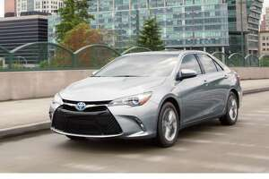 The 2017 Toyota Camry hybrid has a drag coefficient of 0.29 — impressive for a sedan and better than some high-dollar sports/exotic cars.