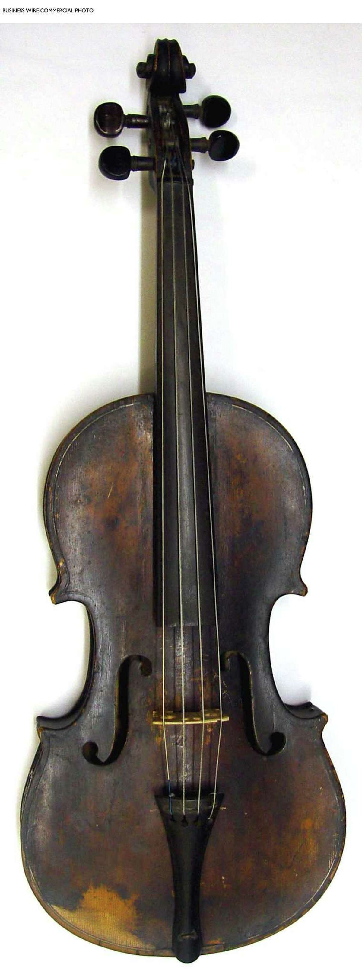 This 1819 fiddle, reputed to once have belonged to Davy Crockett, is a popular item at the Witte Museum.