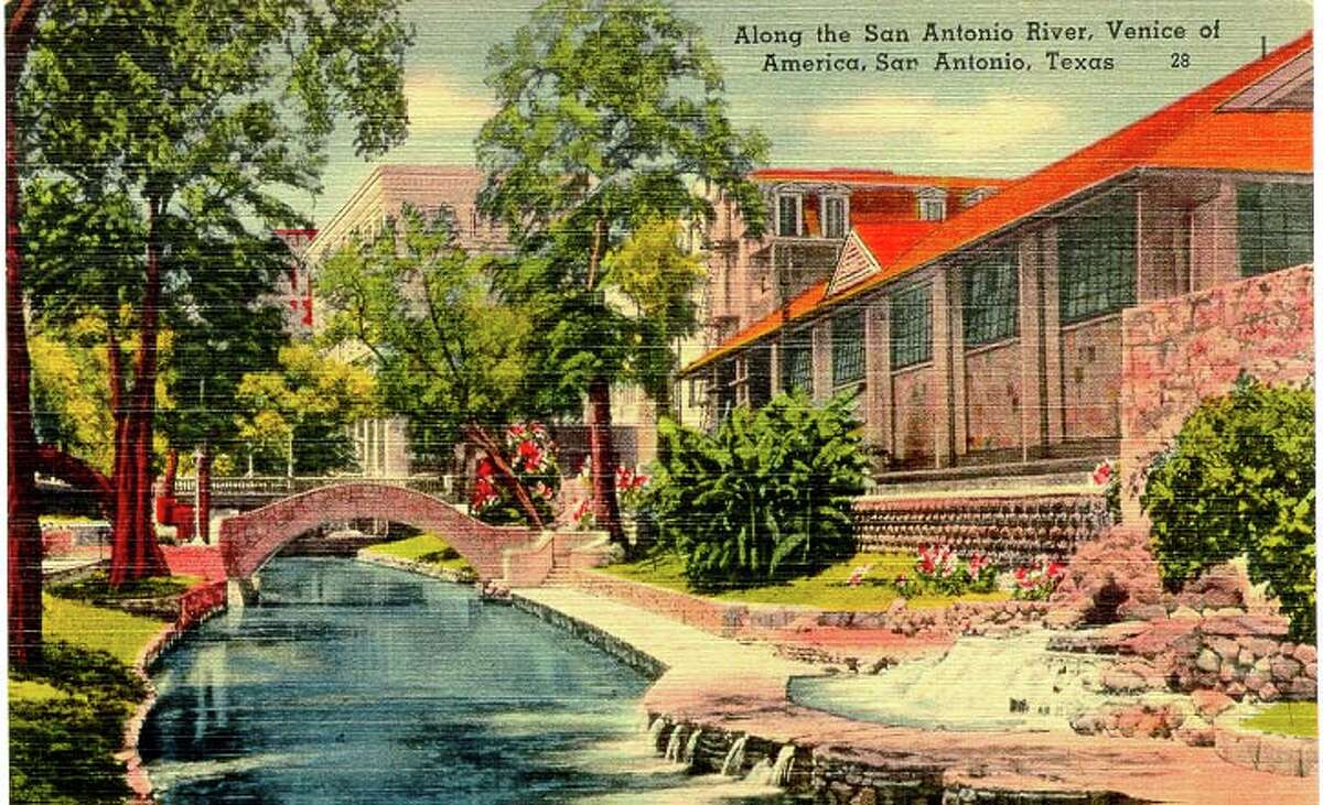 Along the San Antonio River, Venice of AMerica, San Antonio, Texas Source: edwardsaquifer.net