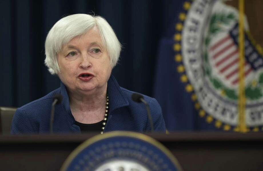 The focus Wednesday will be on Federal Reserve Chairwoman Janet Yellen's press conference and what she says about the pace of U.S. economic growth. Photo: Susan Walsh /Associated Press / Copyright 2017 The Associated Press. All rights reserved.