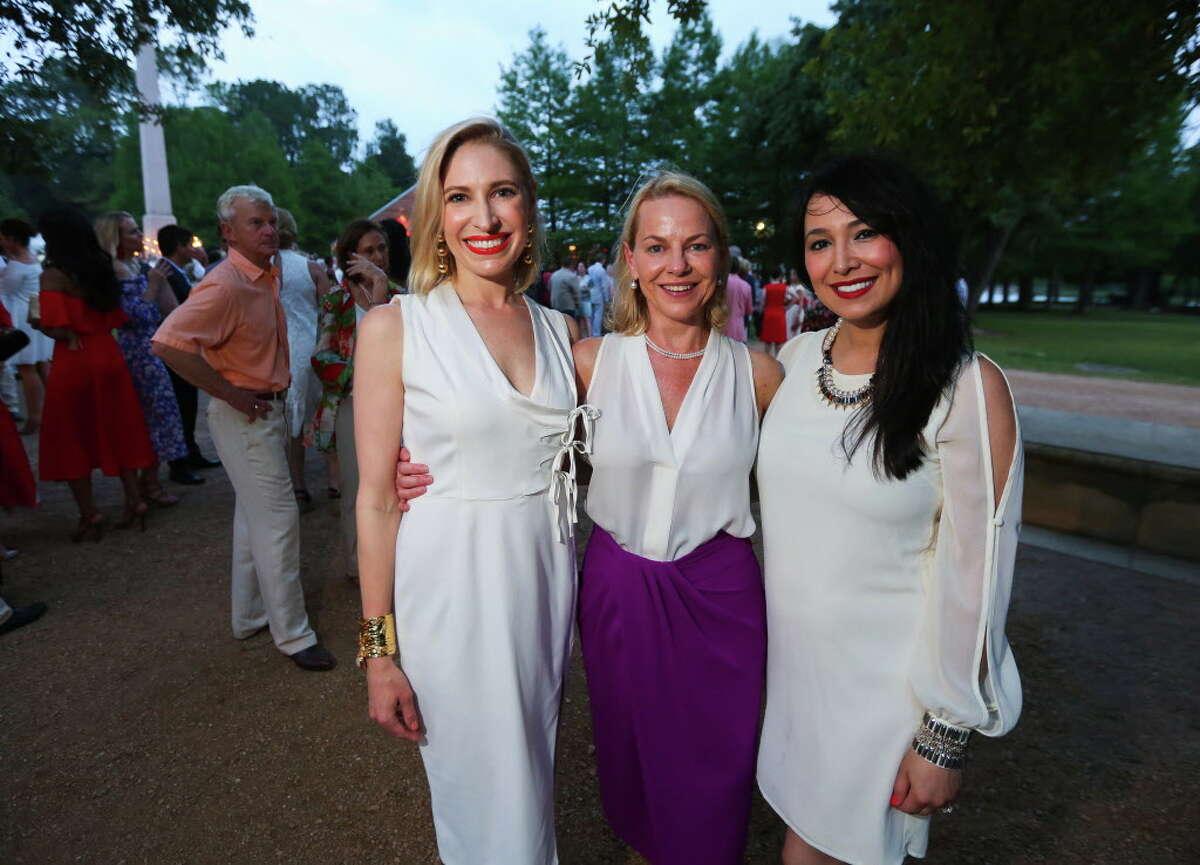 Isabel David, Katrina Peacock and Lisa Wofford at the