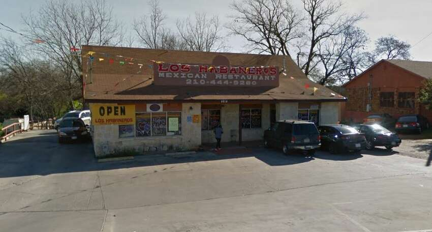 Los Habaneros:4614 Callaghan Road Date: 08/22/2019 Score: 74 Highlights: Observed raw bacon, raw beef, chicken fajitas, beef fajitas, shredded cheese and diced ham being held in the refrigerator and cold hold unit at improper temperatures. Carton of raw shelled eggs warm to touch. Ice machine with heavy buildup. Employee touched several items, then proceeded to touch nopales. Masa being stored in trash bags.