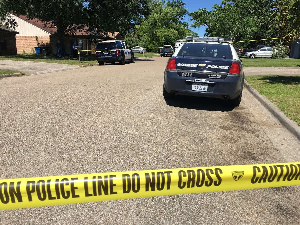 Conroe Police Department is on scene of an officer involved shooting in the 500 block of Hildred Avenue in Conroe.