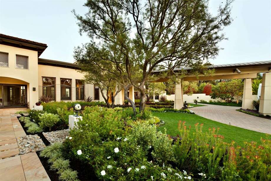 The Los Altos Hills property at 27500 La Vida Real was originally listed in late 2015 at $88 million and is now on the market for $55 million. Photo: Www.BernardAndre.com, Courtesy Michael Dreyfus/Sotheby's