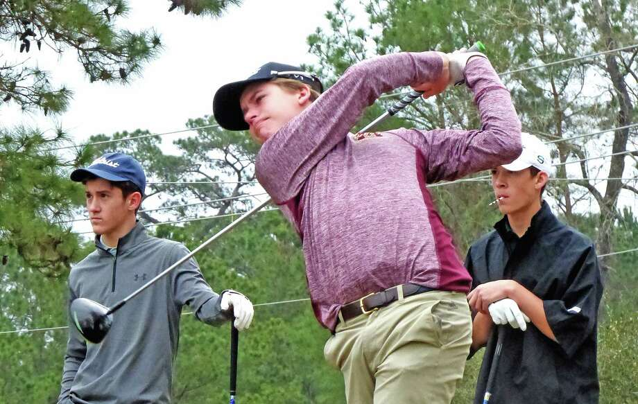 Magnolia West golfer Cameron DeCort finished third at the District 20-5A championships in Sealy this season. Photo: Submitted Photo