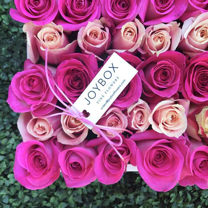 Layla Asgari,Debbie Pakzabanand Staci Henderson have launched Joy Box Fine Flowers, Houston's first floral designer boxes. Rosé All Day, $160.