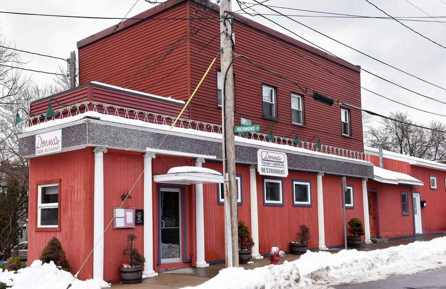 Donna's Italian Restaurant (former Minissale's) on 14th Street Wednesday Feb. 15, 2017 in Troy, NY.   (John Carl D'Annibale / Times Union) Photo: John Carl D'Annibale / 20039700A