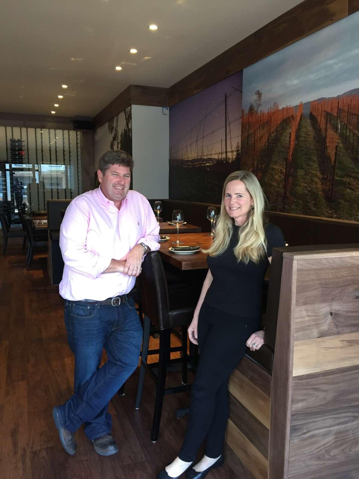 Jody Harris and Gingy Harris Gable inside Cultivar San Francisco, their new Marina District wine bar. Photo: Cultivar