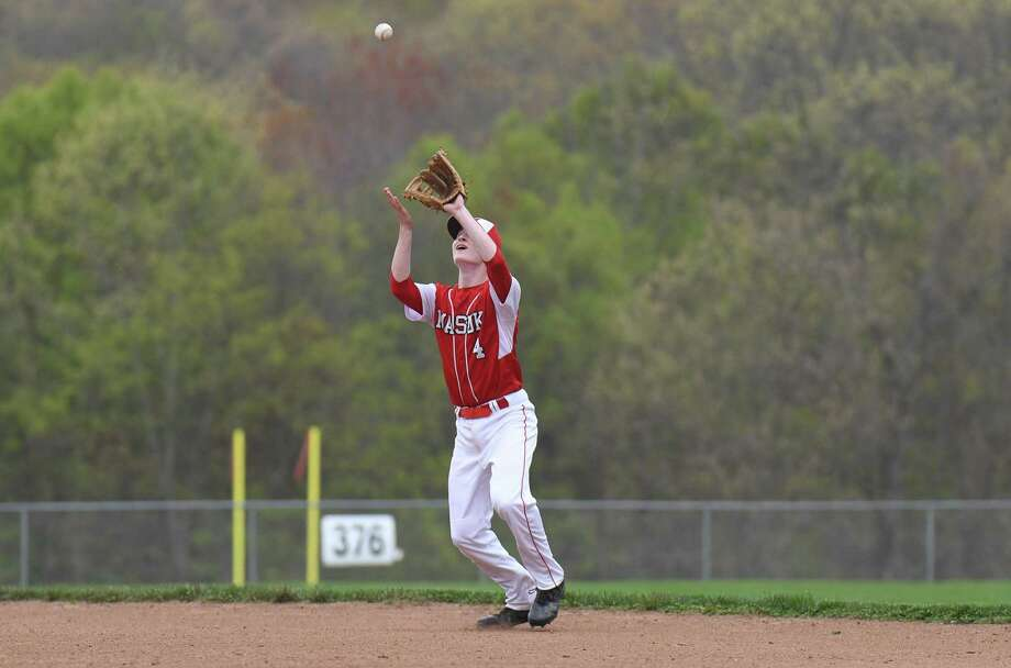 SWC baseball action between the Masuk Panthers and the Bethel Wildcats at Masuk High School on May 1, 2017 in Monroe, Connecticut. Photo: Gregory Vasil / For Hearst Connecticut Media / Connecticut Post Freelance