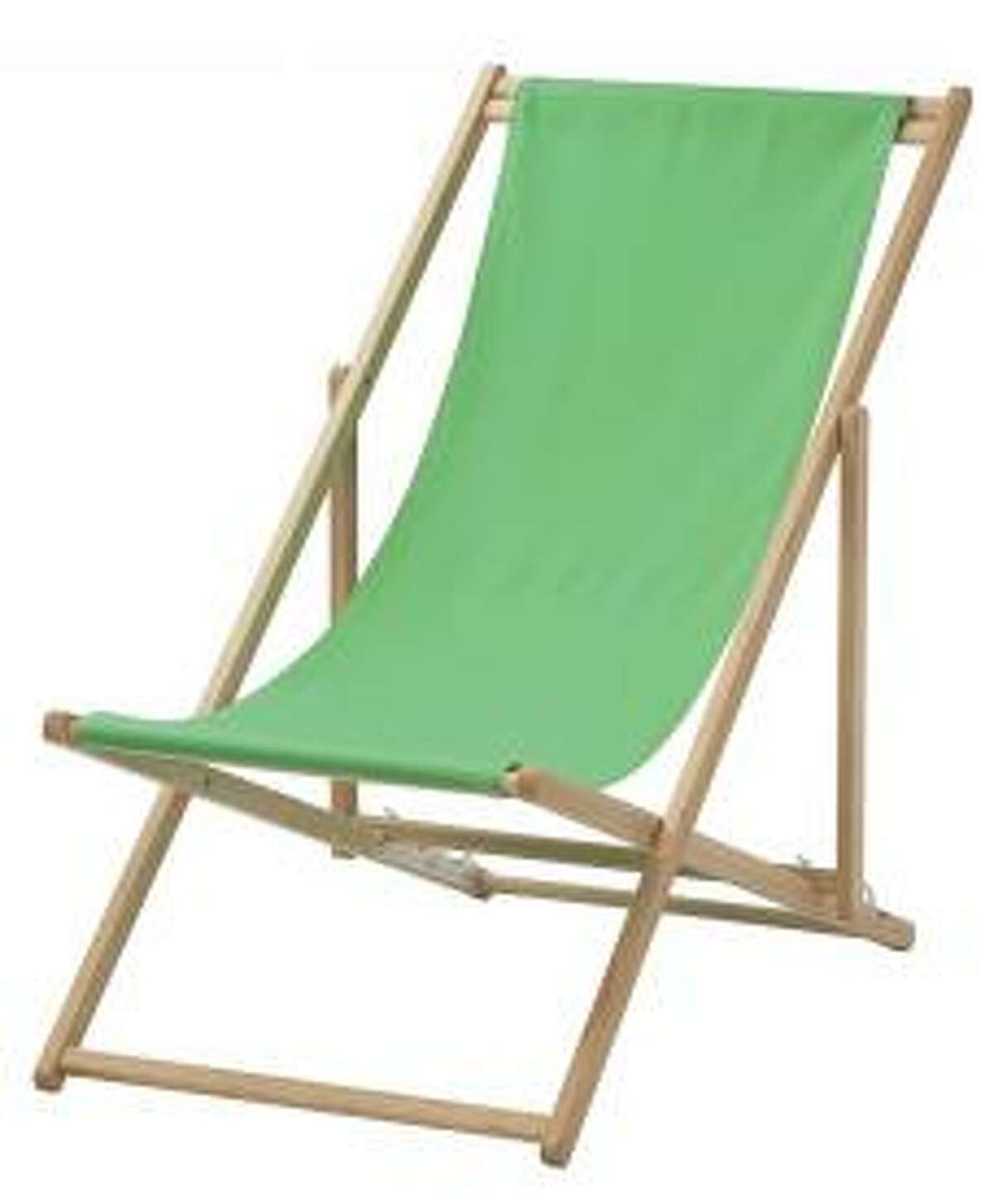 Product Name: IKEA MYSINGS?- beach chairs Safety Concerns:The beach chairs can collapse, posing fall and fingertip amputation hazards. Recall Date: Jan. 27, 2017 Source: CPSC