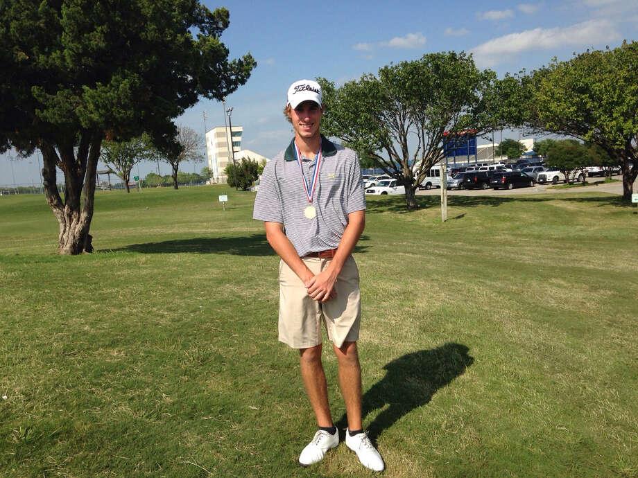 Stratford High School golfer Matthew Riedel. Photo: Stratford High School