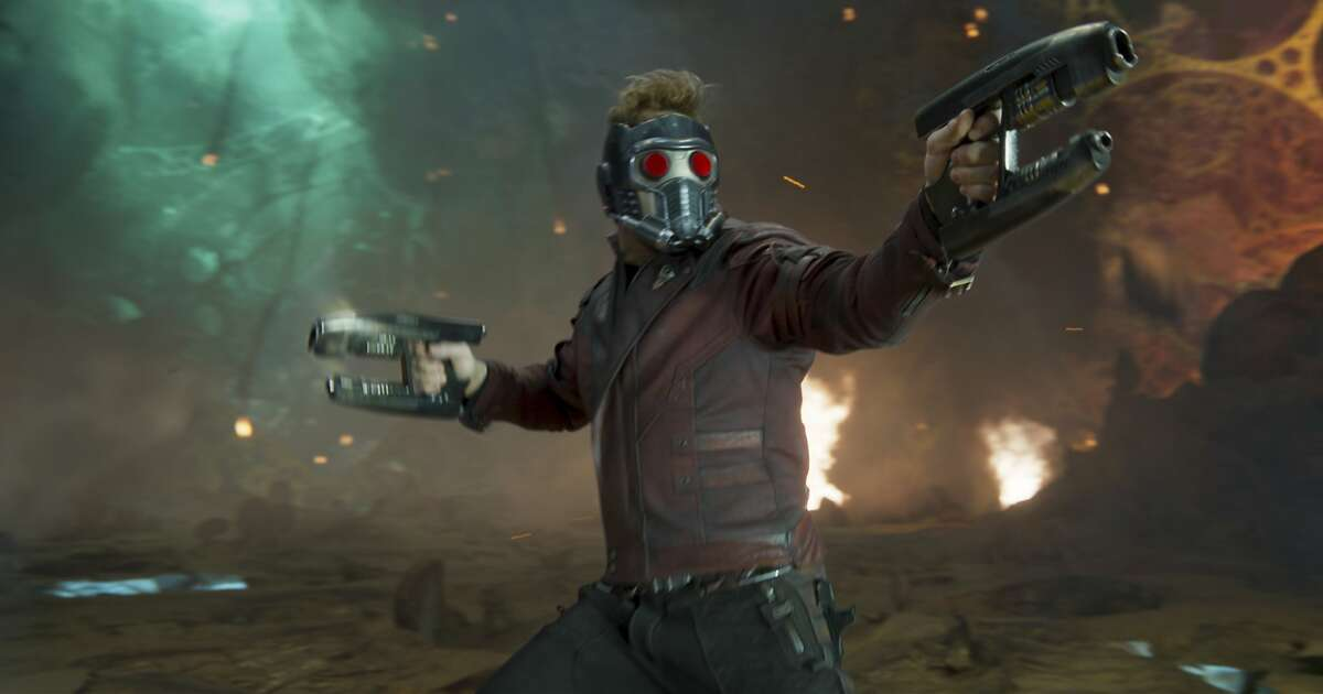 """This image released by Disney-Marvel shows Chris Pratt in a scene from, """"Guardians Of The Galaxy Vol. 2."""" (Disney-Marvel via AP)"""