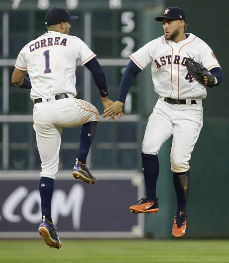 The early success enjoyed by Carlos Correa, George Springer and the Astros has led to a ratings bump for radio flagship KBME (790 AM). Photo: Melissa Phillip/Houston Chronicle
