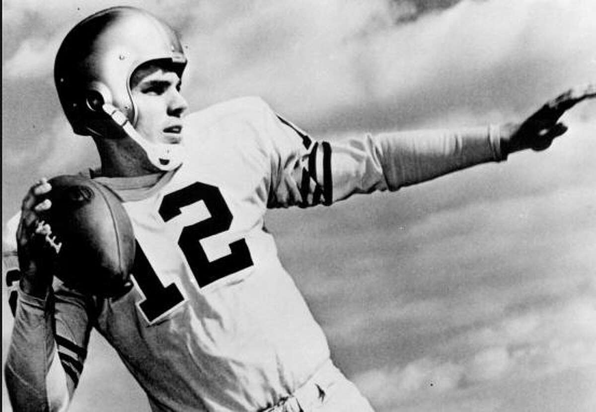After graduating from the U.S. Naval Academy, Roger Staubach spent four years in the Navy - including a year in Vietnam - before turning pro.